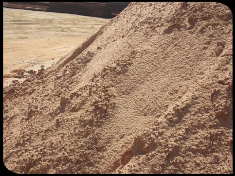 Areia Lavadas Grossas no Jardim Itália - Caminhão de Areia Lavada