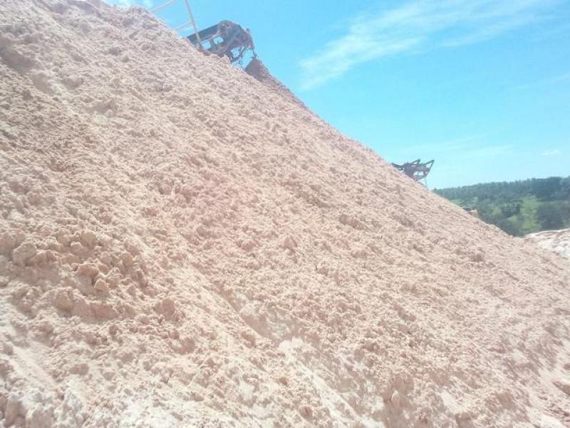 Areia Média para Concreto no Pinheirinho - Carrada de Areia Média