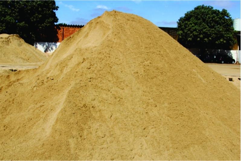 Areia Média para Construção Preço no Cecap - Areia Média Ensacada