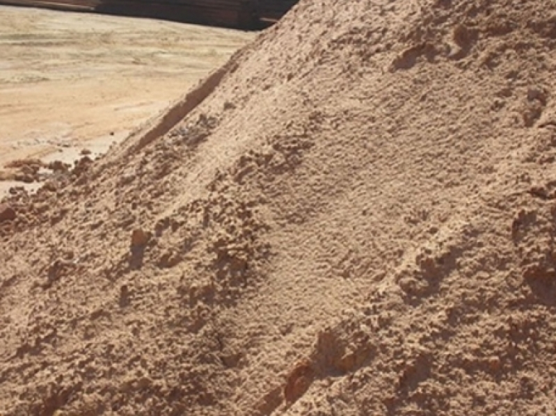 Areia Média para Reboco na Liberdade - Carrada de Areia