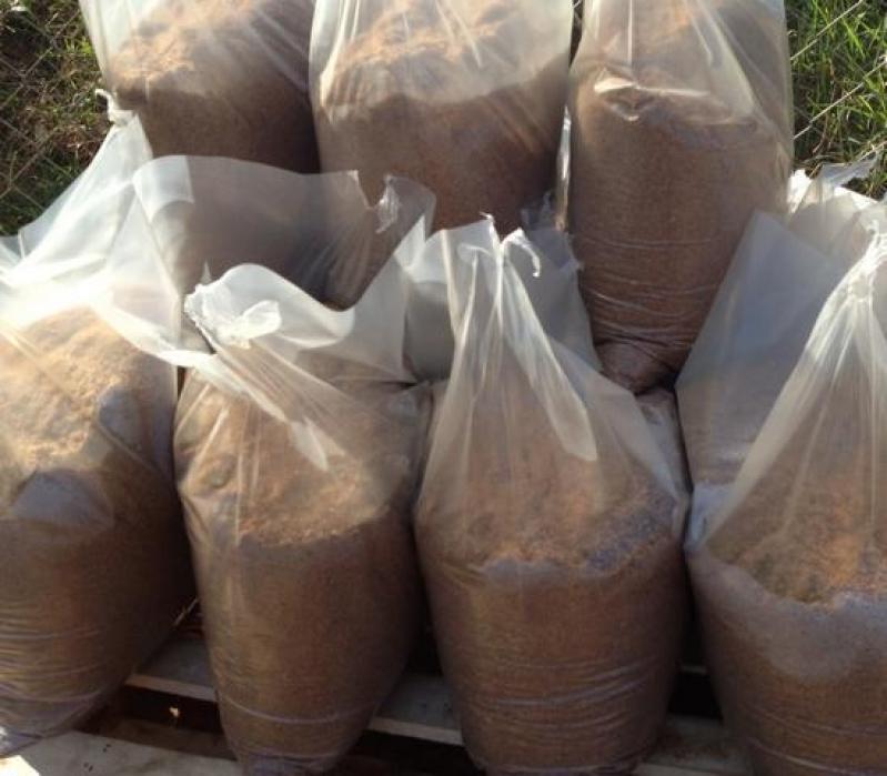 Areias em Saco na Franca - Areia Ensacada Saco 20kg