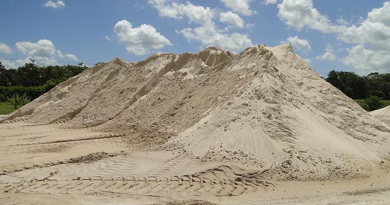 Areias Fina para Construção no Parque da Represa - Areia Fina para Construção