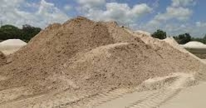 Areias Grossa para Obras no Parque Retiro do Carrilho - Areia para Construção Civil