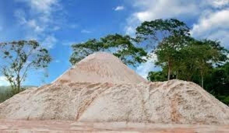 Areias para Construção em São Paulo na Fazenda Iracema - Areia Grossa para Obras
