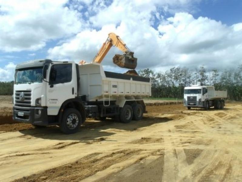 Caminhão de Areia no Parque São Jorge - Areia Lavada para Obra