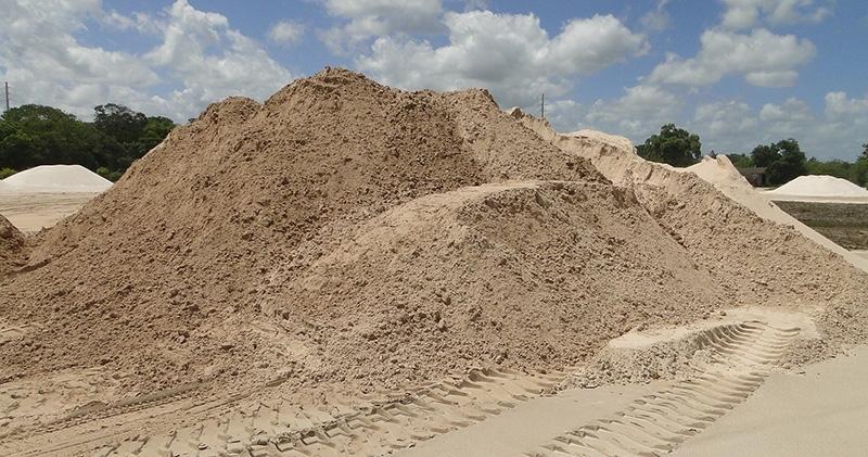 Carrada de Areia Fina para Construtora em Pracatu - Carrada de Areia Lavada