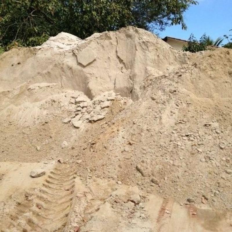 Carrada de Areia Lavada no Parque Retiro do Carrilho - Carrada de Areia Lavada