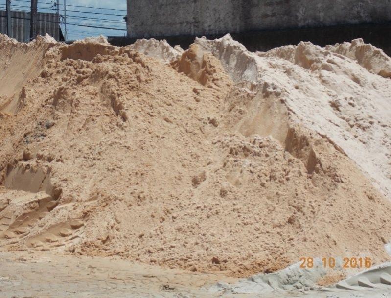 Carrada de Areia para Alicerce Preço no Núcleo Residencial Princesa D'Oeste - Carrada de Areia Lavada