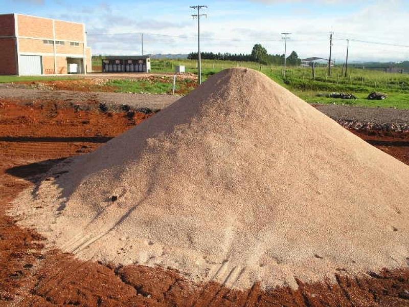 Carrada de Areia para Construção Santa Efigênia - Carrada de Areia Lavada