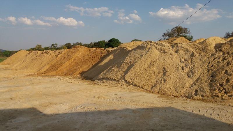 Carrada de Areia Preço no Retiro - Areia Média Fina