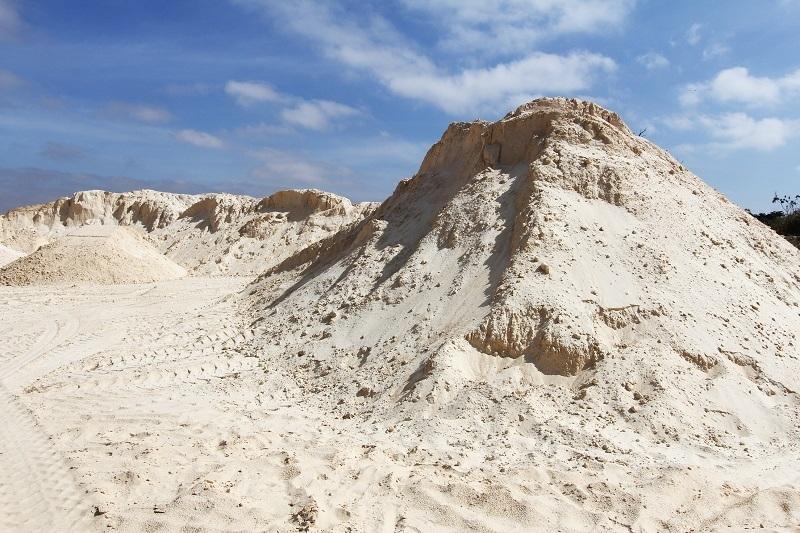 Carradas de Areia Lavada para Construção Vila Esperança - Carrada de Areia Lavada