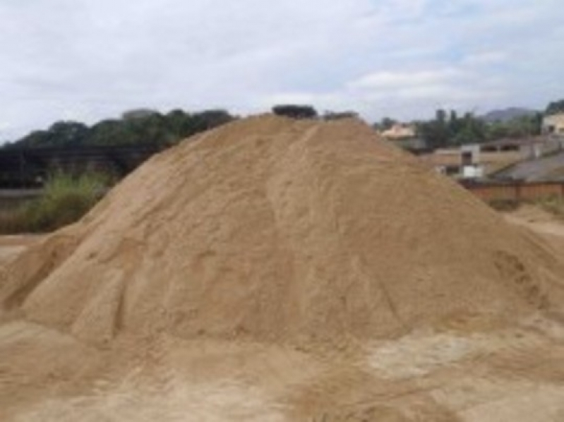 Carradas de Areia para Construção Chácara das Videiras - Carrada de Areia Lavada