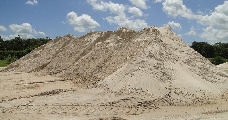 Carradas de Areia para Rebocos Fazenda Três Pedras - Carrada de Areia Lavada