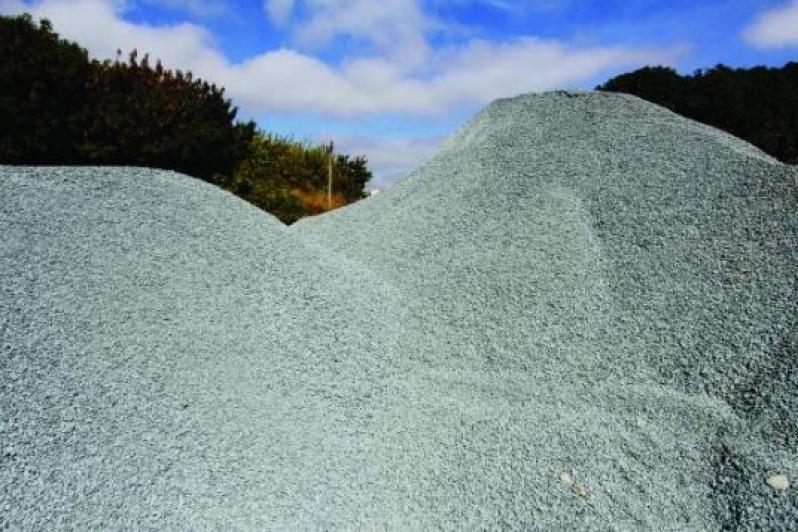 Pedra Brita para Construção no Jardim da Fonte - Pedra Brita Branca