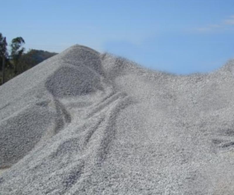 Pedra Britada em Pó Preço no Residencial Jaguary - Pedra Brita para Drenagem