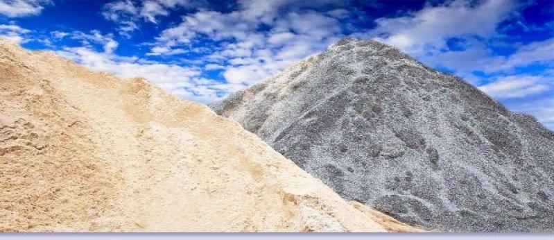 Pedra e Areia para Construção na Aricanduva - Areia e Pedra Moída