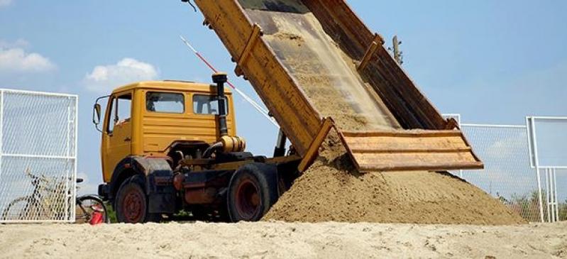 Quanto Custa Caminhão de Areia Média no Jardim do Sol - Areia Média para Reboco