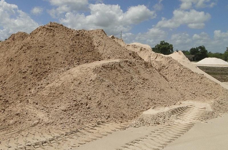 Quanto Custa Carrada de Areia Fina para Construtora Vila Andrade - Carrada de Areia Lavada