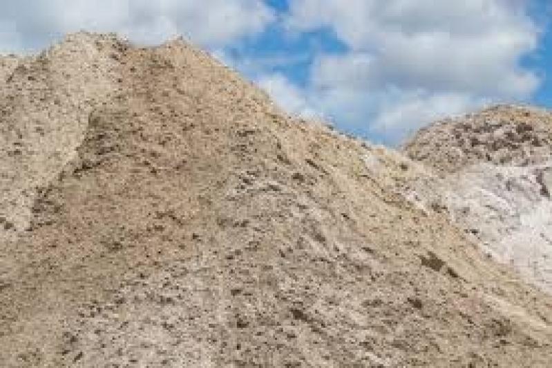Quanto Custa Carrada de Areia no CDHU Campinas F - Areia Média para Reboco