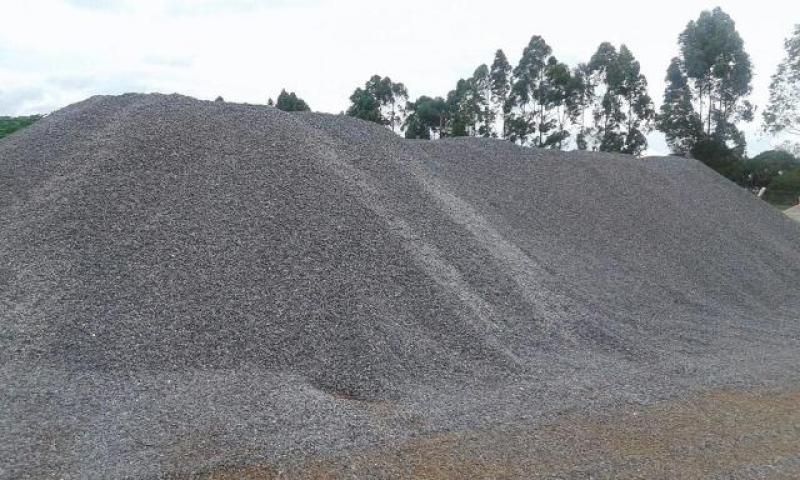 Quanto Custa Pedra Moída para Construção Civil no Parque Residencial Nove de Julho - Pedra Moída para Acabamento Externa