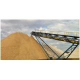 depósito areia e pedra