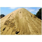 areia fina para concreto preço no Parque União