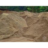 areia fina para construção no Parque Fazenda