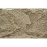 areia grossa para construção