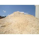 areia grossa para reboco