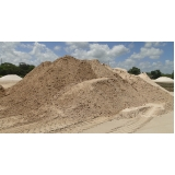 areia grossa e areia fina no Parque do Carmo