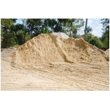 areia grossa para concreto preço no Núcleo Residencial Cristo Rei