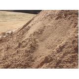 areia lavada para obra preço em Aeroporto