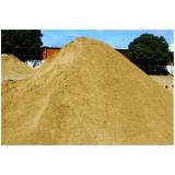 areia média para construção preço no Parque Família