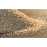 areia média para reboco preço na Vila Lunardi