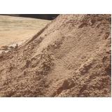 areia média peneirada para obras preço no Santo André