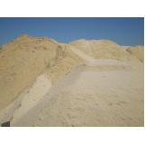 areia para obras no Spiandorello