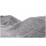 areias e pedra moída na Malota