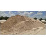 areias grossa para obras no Parque Retiro do Carrilho