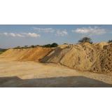 areias para obras na Riqueza