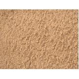 areia peneirada para construtora