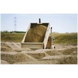 caminhão de areias média no Jaguaré