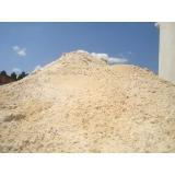 carrada de areia de brita preço Chácara Itamar