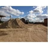 carrada de areia de brita Cidade Dutra