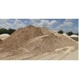 carrada de areia fina para construtora no Condomínio Vista Alegre