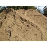 carrada de areia grossa preço Chácara Recreio Santa Camila