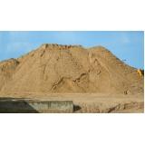 carrada de areia lavada para construção no Parque Família