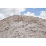 carrada de areia média no Parque Itajaí