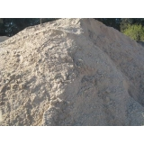 carrada de areia para concreto Água Rasa