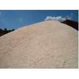 carrada de areia grossa para construtora