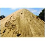 carrada de areia grossa